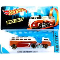 361ccf89df19 Privalia; Carrinho Hot Wheels - Track Stars - Custom Volkswagen Hauler -  Mattel