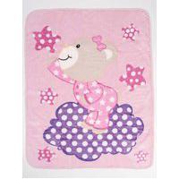 Cobertor Bebê Inter Home Rosa Claro