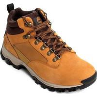 Bota Timberland Keele Ridge Wp Leather Mi Wheat Masculina - Masculino-Mostarda