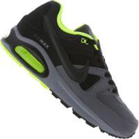 Tênis Nike Air Max Command - Masculino - Cinza/Preto