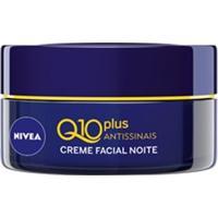 Anti-Idade Facial Nivea Visage Creme Q10 Plus Noturno Unissex 50G Nivea - Unissex-Incolor