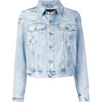 Diesel Jaqueta Jeans 'Trucker' - Azul