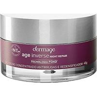 Gel Creme Anti-Idade Dermage - Age Inverse Night Repair 45G - Unissex-Incolor