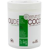 Griffus Vou De Coco - Creme Para Pentear 1,1Kg - Unissex-Incolor