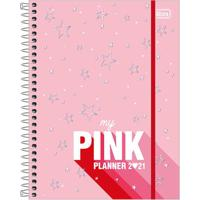 Agenda Planner Tilibra Espiral Love Pink Capas Diversas - Item Sortido