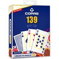 Baralho 139 Cartucho Azul - Copag - Tricae