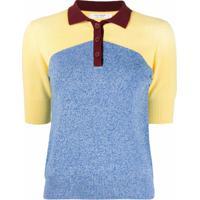 Chinti And Parker Camiseta Polo De Algodão Orgânico - Azul