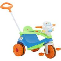 Triciclo Infantil Bandeirante - Unissex-Azul+Laranja