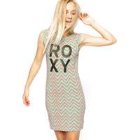 Vestido Roxy Zig Zag Sunshine Verde