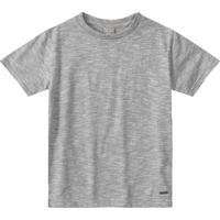 Camiseta Tigor T. Tigre Bebê Masculina - Masculino-Cinza