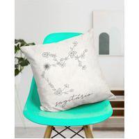 Amaro Feminino Design Up Living Capa De Almofada Signo 42X42, Sagitário