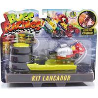 Veículo E Pista De Percurso - Bugs Racing - Lançador - Antrax - Dtc