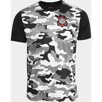 46a9853298a25 Netshoes  Camisa Corinthians Warriors C  Patch Masculina - Masculino