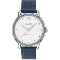 Relógio Coach Feminino Couro Azul - 14502885