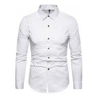 Camisa Masculina Social Slim Mackay - Branca