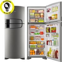 Refrigerador   Geladeira Consul Bem Estar Frost Free 2 Portas 437 Litros Inox - Crm55Ak