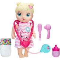 Boneca Baby Alive Cuida De Mim Loira Hasbro - Feminino-Incolor