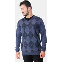 Suéter Masculino Losangos 71141