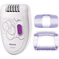 Depilador Philips Satinelle Hp6401/30 2 Velocidades Branco
