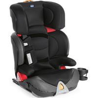Cadeira Oasys 2-3 Fixplus Evo Jet Black