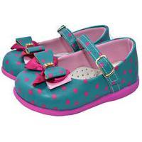 Sapatilha Infantil Gotakids Verde Bolinhas Pink