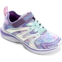 Tênis Infantil Skechers Double Dreams Unicorn Wishes - Feminino-Lilás
