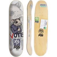 Shape De Skate Progress - Pgs Rato 7.8 + Lixa Grátis - Unissex