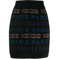 Kenzo Saia Com Logo - Preto