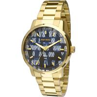 2cbe0fdb24c89 ... Relógio Mormaii Analógico Mo2036Hu-4A Feminino - Feminino-Dourado+Azul