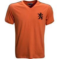 Netshoes  Camisa Liga Retrô Holanda 1974 - Masculino 1eb7322074741