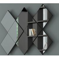 Painel Decorativo Losango C/ Espelho 127Cm Tb83 - Dalla Costa