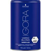 Schwarzkopf Pó Descolorante Igora Vario Blond Super Plus 450G
