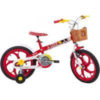 Bicicleta Caloi Minnie Aro 16 Infantil - Feminino