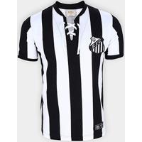 Camisa Santos Cordinha Retrô Mania Masculina - Masculino