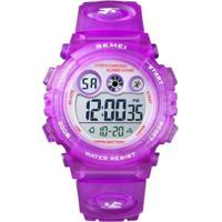 Relógio Infantil Skmei Digital Feminino - Unissex-Roxo
