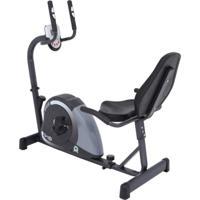 Bicicleta Ergométrica Horizontal Magnética Dream Mag 5000H Preto