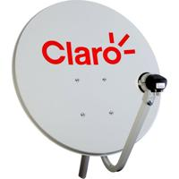 Mini Antena Parabólica Vivensis 60Cm Para Claro Tv