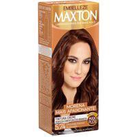 Tintura Creme Maxton 5.74 Chocolate Intenso Acobreado Com 1 Unidade 1 Unidade