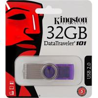 Pen Drive 32Gb Data Traveler 101 G2 - Kingston - Roxo