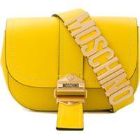 Moschino Pochete Com Logo De Letras - Amarelo