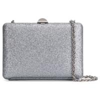 Rodo Shoulder Clutch Bag - Prateado