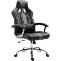 Cadeira Gamer Jaguar Preta E Cinza