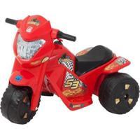 Mini Moto Elétrica Infantil Banmoto G2 2 Marchas - Unissex-Vermelho