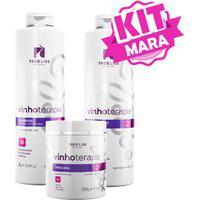 Kit Vinhoterapia Reconstrutor Alisamento Premium Tree Liss