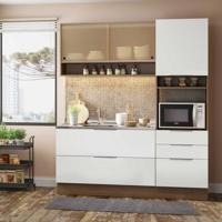 Cozinha Completa Linear 5 Pt 3 Gv Rustic