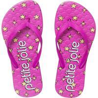 Chinelo Petite Jolie Infantil Recolorir Pink/Super Star Pj6036In