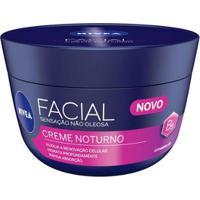 Creme Hidratante Facial Nivea Noturno - 100G - Unissex-Incolor
