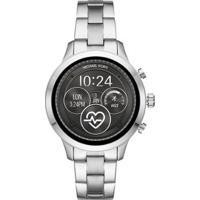 Smartwatch Michael Kors Runway Feminino - Feminino-Prata