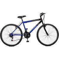 Bicicleta Master Bike Aro 26 Masculina Ciclone Plus 21 Marchas Azul