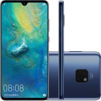 Smartphone Huawei Mate 20 128Gb 4Gb Ram Versão Global Desbloqueado Azul